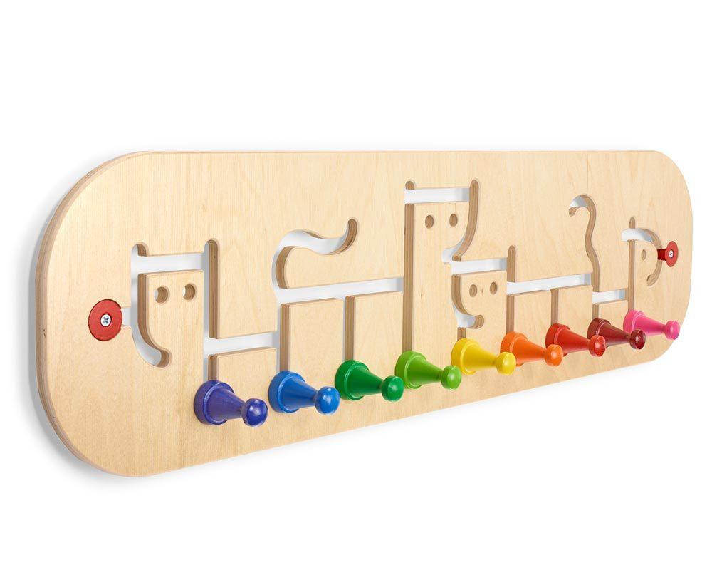 Movella, coat rack Wooden Toys Selecta
