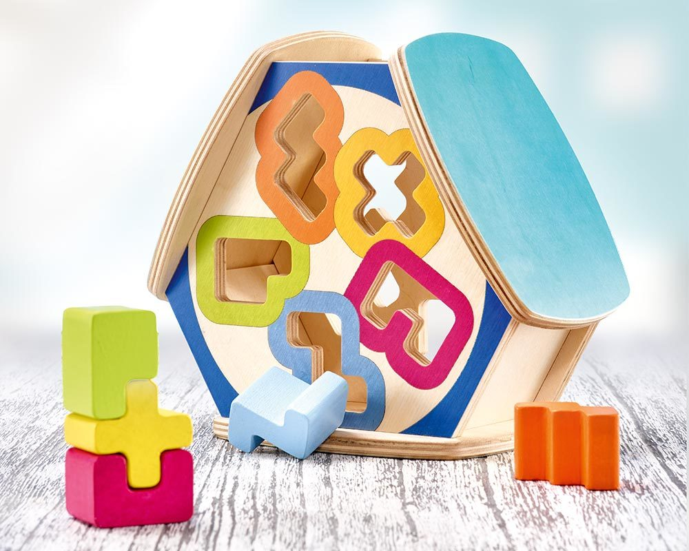 wooden sorting game sortino
