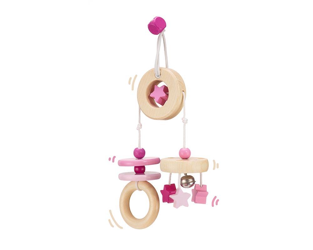 wooden mini trapeze pink bellybutton