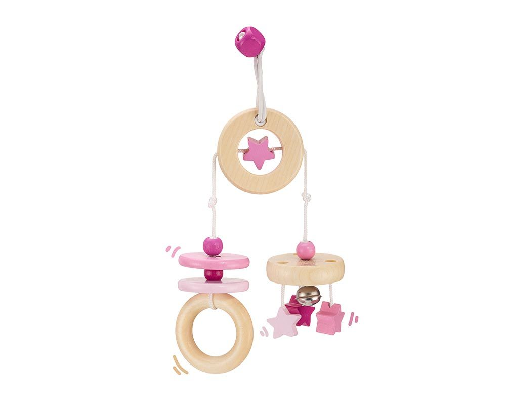 wooden mini trapeze pink bellybutton