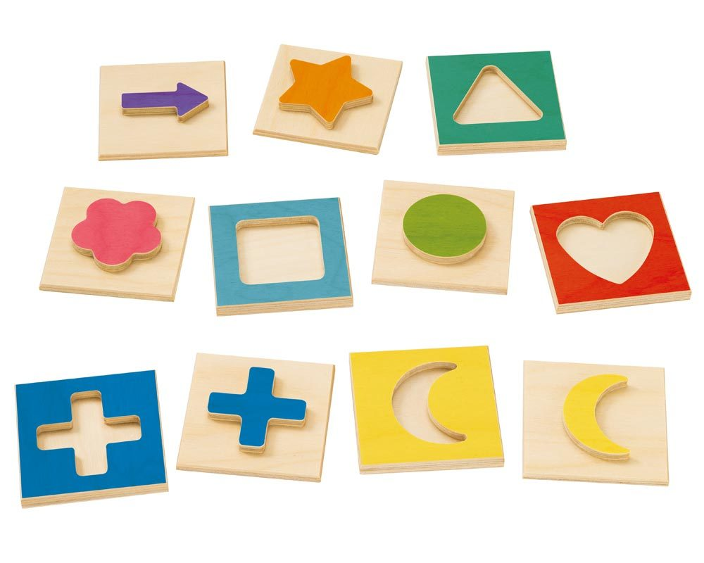 wooden picture memo game 3d