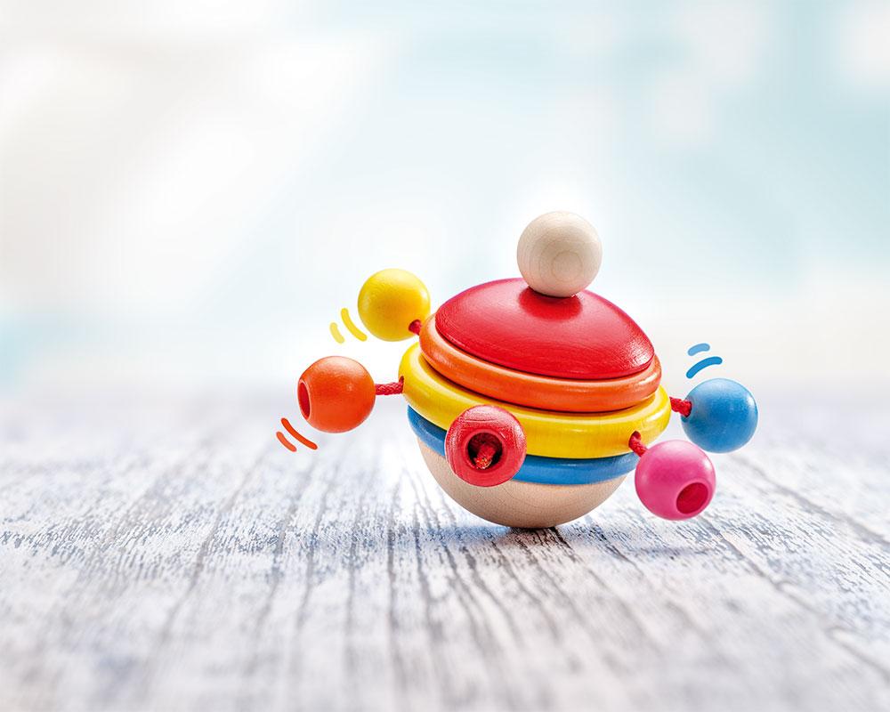 Rotondo Selecta wooden toy