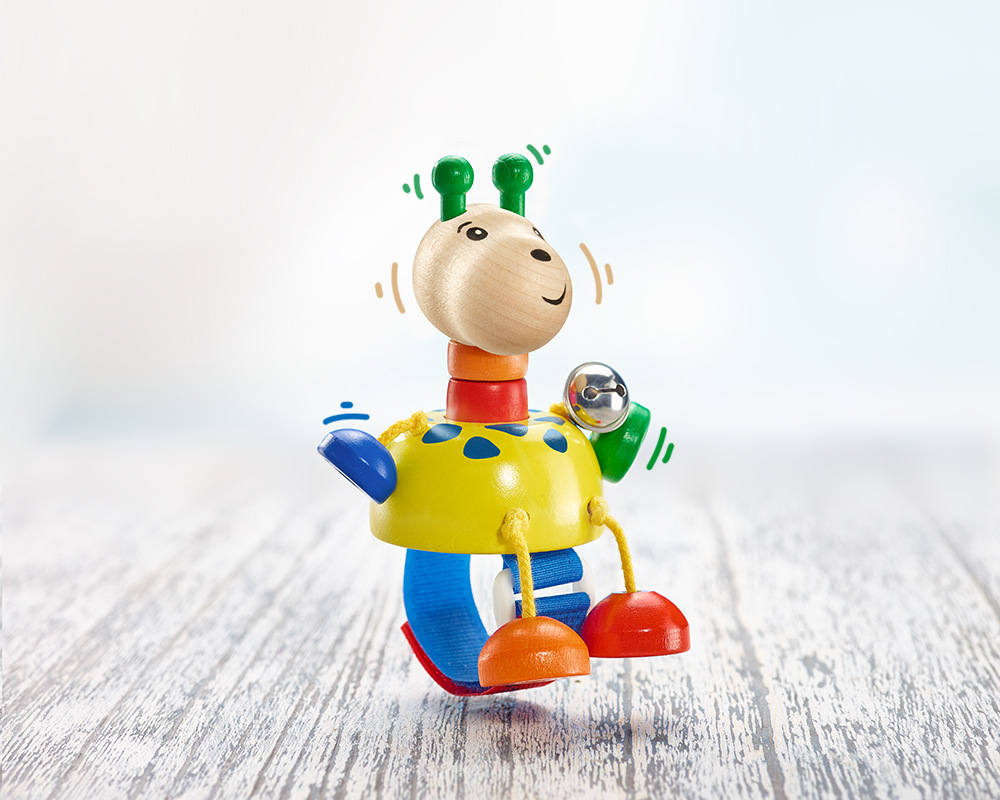 Buggy toy, giraffe Collini