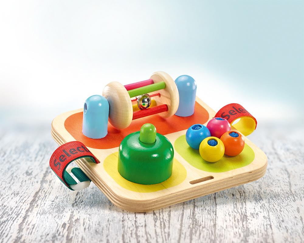 wooden motor skills game tavolino bells