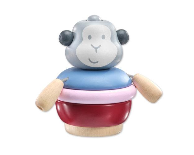 Stacking monkey bellybutton