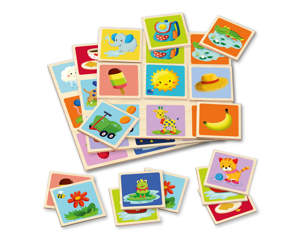 Picture Lotto wooden toy